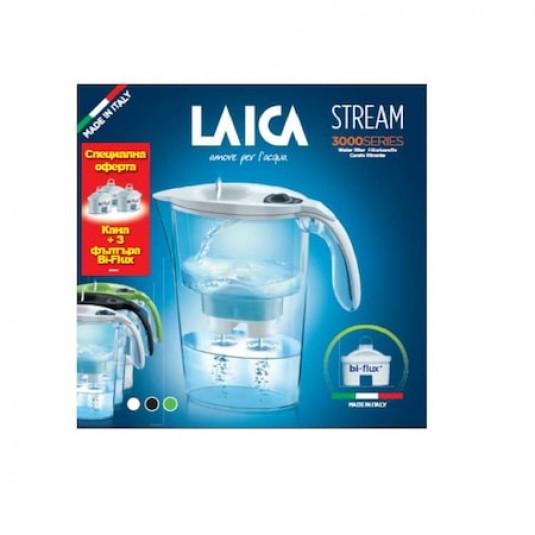 Laica Комплект Кана Stream + 3 бр. Bi-Flux цена