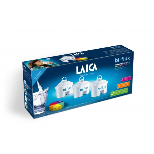Laica Bi-Flux Mineral Balance  универсален филтър 3 бр. цена