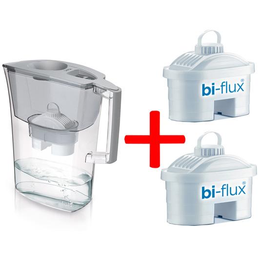 Laica Филтрираща кана Prime Line Elegance 3,0 л. + 2 филтъра BiFlux цена