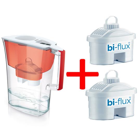 Laica Филтрираща кана  Prime Line Nature 3,0 л. + 2 филтъра BiFlux цена